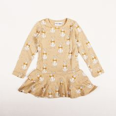 mini rodini RABBIT DRESS