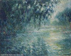 Monet, Mattina sulla Senna, 1898