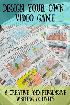 A great way to get your students' creative juices flowing while working on persuasive writing skills. Descriptive Writing Activities, Writing Games, Persuasive Writing, Cool Writing, Kids Writing, Teaching Writing, Writing Skills, Creative Writing, Writing Rubrics