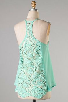 In the Details Tank - Mint