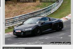 Photos de la future Audi R8 peu camouflée