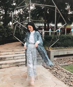 Wearing @barliasmara's collection for today! Terimakasi yang tadi sudah datang ke acara @dompet_dhuafa di Mall Central park 🎤😊 Duster Coat, Central Park, Fashion Outfits, Jackets, Clothes, Wattpad, Dresses, Random, Instagram