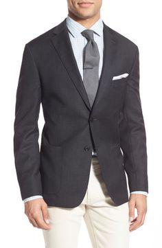 Main Image - Bensol Trim Two-Button Blazer