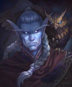 World Of Warcraft Characters, Dnd Characters, Fantasy Characters, Character Portraits, Character Art, Character Design, Character Reference, Character Ideas, Mononoke Cosplay
