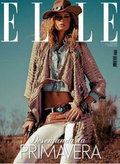 Cowgirl shoot: Hana Soukupova for ELLE Spain Cowgirl Chic, Moda Cowgirl, Cowgirl Mode, Cowgirl Style, Cowgirl Fashion, Cowgirl Tuff, Cowboy Baby, Vintage Cowgirl, Gypsy Cowgirl