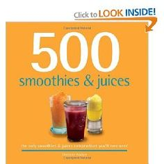 This book features the recipe for over 500 smoothies and juices.  Our #Superberries 100% Aroniaberry Concentrate is delicious when paired with almost any juice or smoothie.