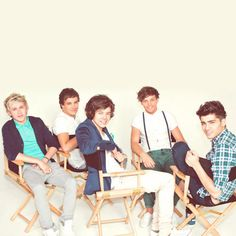 One Direction photoshoot