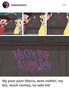 Could you be any more obvious?? Star vs the forces of evil