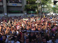 #realmadrid fans at El Clasico. Real Madrid 3-1 Barcelona. #halamadrid