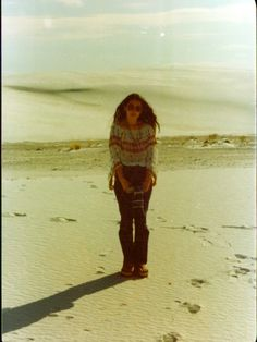 Anxious Traveler: Photo Recreations at White Sands and Revisiting My Childhood in New Mexico (My mom at white sands in the 70's)