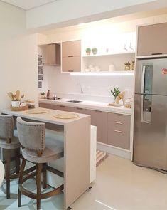 Kitchen Room Design, Home Room Design, Home Design Decor, Kitchen Cabinet Design, Modern Kitchen Design, Home Decor Kitchen, Interior Design Kitchen, Kitchen Furniture, Home Kitchens