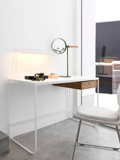 Asplund TATI desk and ME  Mirror is what I call perfect symplistic Swedish design