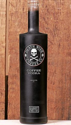Death Wish Coffee Vodka: The Albany Distilling Company, known for its small batch craft spirits, and Round Lake-based Death Wish Coffee, known for its highly caffeinated java, have announced a new coffee vodka to be released in early 2016 as part of the first collaboration between their companies.