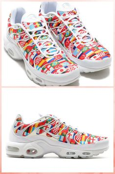 "427338da6b Nike Air Max Plus NIC ""International Flag"" for #worldcup #sneakers #nike # airmax #flag"