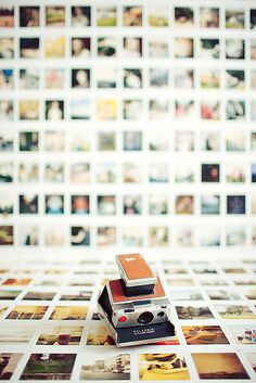 I want a polaroid wall.