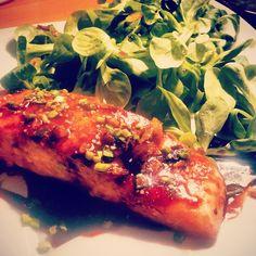 LE saumon teryaki ... Un des plats préférés de nos clients et on les comprend - Par @noufnouf75014