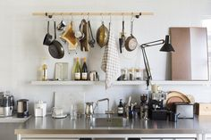 Stef Bakker I interior architect Kitchen Interior, New Kitchen, Kitchen Dining, Kitchen Shop, Kitchen Utensils, Kitchen Stuff, Room Interior, Kitchen Ideas, Kitchen Workshop