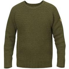 Sörmland Roundneck Sweater - Dark Olive