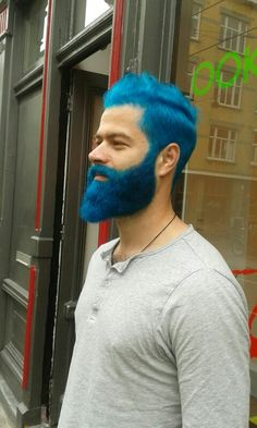 Dyed Blue Beard