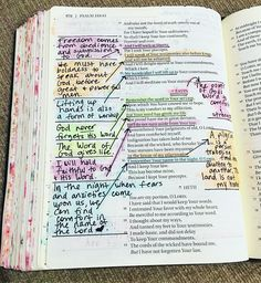The bible 558727897524720409 - Still studying and reading . There is so much good stuff in this chapter! So far I have learned that the Word of God… ♥️gives… Source by julgllt Bible Study Notebook, Bible Study Journal, Scripture Study, Bible Art, Bible Study Tips, Psalm 119, Bibel Journal, Bible Doodling, Bible Notes