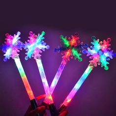 Wholesale Cheap Outdoor Concert Light Up Wand With Customize - Led Party Supplies Concert Lights, Led Stick, Party Lights, Blossoms, Wands, Light Up, Party Supplies, Snow, Magic