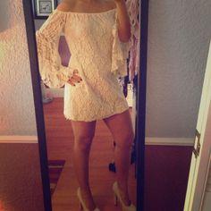 1 Hr Sale!Hpoff The Shoulder Dress