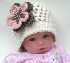 crochet handmade baby hat