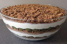 Dessert mit Weintrauben, ein raffiniertes Rezept aus der Kategorie Dessert. Bewertungen: 474. Durchschnitt: Ø 4,7.