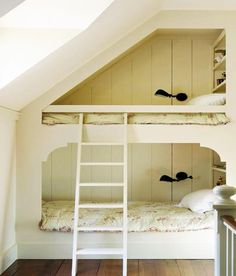 Bedroom White Wooden Stairs And White Bed Linen With Bedroom Design By Atlantic Archive With Several Flower Ornament Ideas Various Style Modern Kids Bedroom Ideas For Small Rooms
