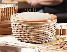 Submit a $350 show by October 16 and enter a drawing for a past Master Studio Basket valued up to $800. Host also receives 2 1/2 price items & $50 host dollars and a Mystery Product valued up to $35 Master's Studio™ Sewing Basket-12778