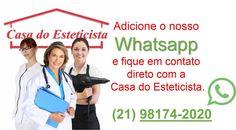 Agora você tem o contato direto conosco! Adicione o nosso Whatsapp:(21) 98174-2020