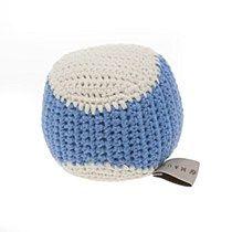 Crochet Baseball Dog Toy Thistle/Chalk