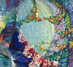 František Kupka, Printemps cosmique I (Cosmic Spring I), 1913-14