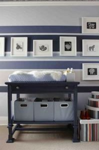 Nursery on a budget. This is written in French, FYI.