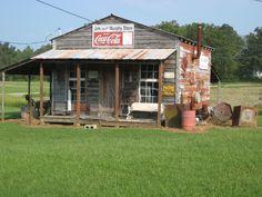 Old Store -Mantachie, MS / Coca Cola Ad.