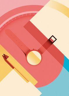 Ray Oranges, Timekeeping & Penmanship, for Monocle, 2016.