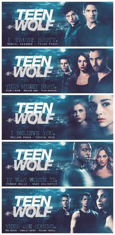 Season 3  LOVE THIS. But Adeline left the show, Boyd, Erica and Kali are dead and they might kill off Derek... This is not gonna be my favorite season :P