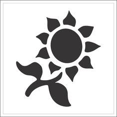 Stencil #S039 Crown Stencil, Bear Stencil, Sunflower Stencil, Face Stencils, Ballet Dancers, Owl, Birds, Stamp, Templates