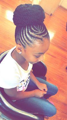 Cute Updo Updos Kids Braided Hairstyles Cornrow Styles For - cute cornrow hairstyles cornrow hairstyles red Cornrow Styles For Girls, Kid Braid Styles, Braided Mohawk Hairstyles, African Braids Hairstyles, Protective Hairstyles, Easy Hairstyles, Protective Styles, Toddler Hairstyles, Short Haircuts