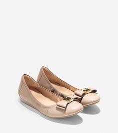 Tali Bow Ballet Cole Haan Flats
