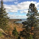 View of Split Rock Lighthouse from Days Hill - Minnesota