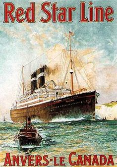 Red Star Line by Monogramme (1910)
