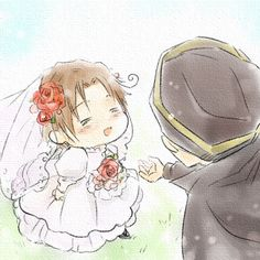Photo of Chibitalia! for fans of Hetalia Couples!. *Melts* :D