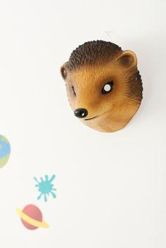 Love this hedgehog mask!