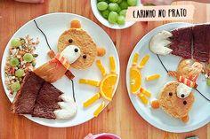 Prato criativo na semana da criança - dcoracao.com - blog de decoração