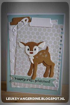 Leuks van Gerdine: Babykaarten