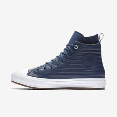 9e32f8a8c99 Converse Chuck Taylor All Star Waterproof Boot Quilted Leather Men s Boot  Size 13 (Blue)