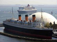 Queen Mary...where my husband & I spent the first night of our honeymoon in1983