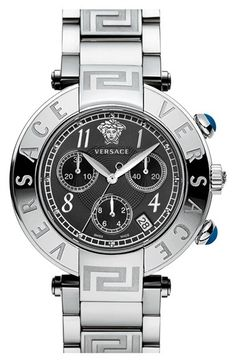 Versace 'Reve' Chronograph Bracelet Watch, 40mm available at #Nordstrom