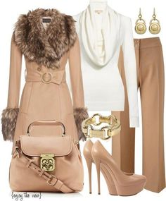 tan,white and gold